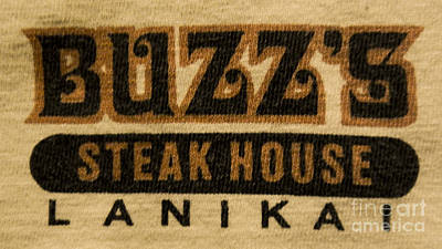 Buzz's Steak House Lanikai 2 Poster by Jamie Sesti