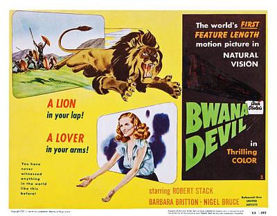 Bwana Devil, Us Lobbycard, Barbara Poster by Everett