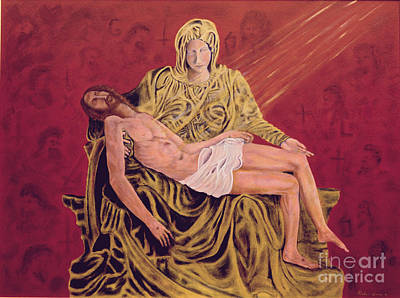 By God's Grace Poster by Robin Grace
