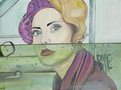 Bye Poster by Darlene Graeser