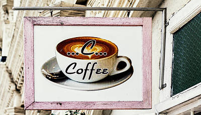 C Is For Coffee - Phuket Town Cafe Poster