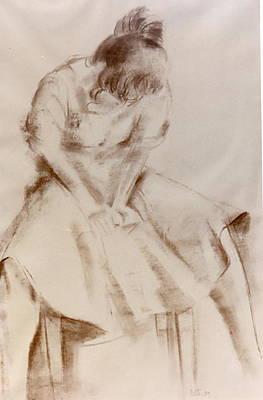C12. Dancer Resting Poster