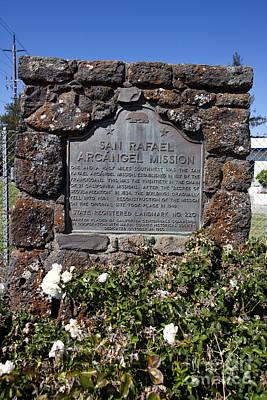Ca-220 San Rafael Arcangel Mission Poster