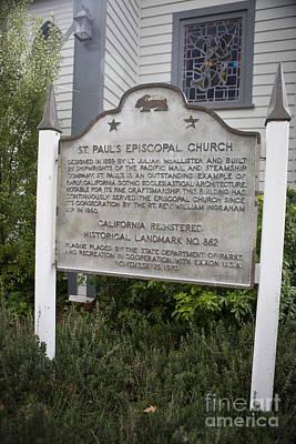Ca-862 St. Pauls Episcopal Church Poster