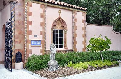 Ca D Zan Ringling Entrance Gate Sarasota Florida Usa Poster