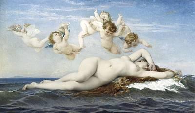 Cabanel, Alexandre 1823-1889. Birth Poster