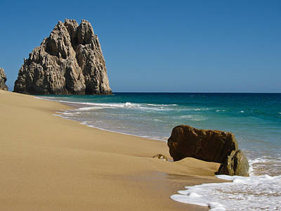 Cabo San Lucas Beach 1 Poster by Shane Kelly