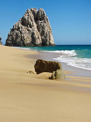 Cabo San Lucas Beach 2 Poster by Shane Kelly