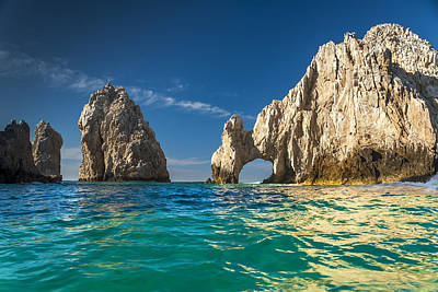 Poster featuring the photograph Cabo San Lucas by Sebastian Musial