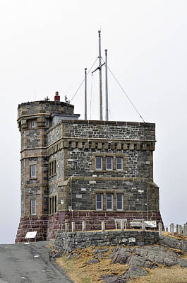 Cabot Tower. Newfoundland. Poster by Fernando Barozza