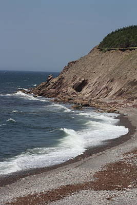 Cabot Trail Scenery Poster by Robin Regan