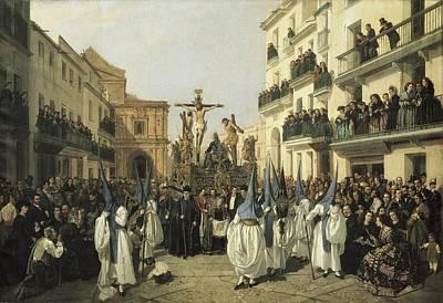Cabral Bejarano, Manuel 1827-1891 Poster