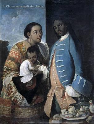 Cabrera, Miguel 1695-1768. De Poster