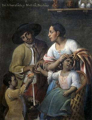 Cabrera, Miguel 1695-1768. From Poster by Everett