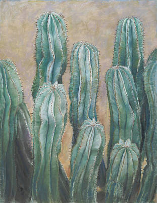 Cacti Poster by Nick Payne