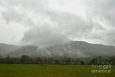 Cades Cove In The Great Smoky Mountains Poster