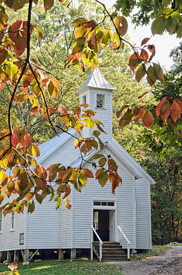 Cades Cove Missionary Baptist Church Poster