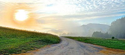 Cades Cove Sunrise Poster by Frozen in Time Fine Art Photography