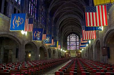 Cadet Chapel At West Point Poster