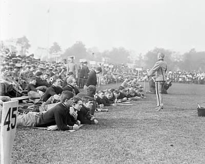Cadet Cheerleaders, 1908 Poster