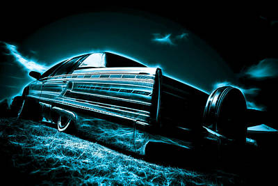 Cadillac Lowrider Poster by motography aka Phil Clark