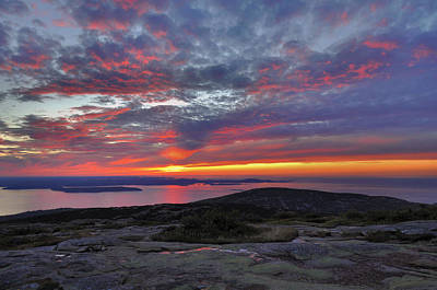Cadillac Mountain Sunrise 2 Poster