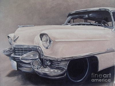 Cadillac Study Poster by Pauline Sharp