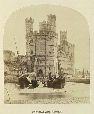 Caernarvon Castle Poster by British Library