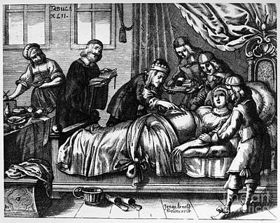 Caesarean Section, 1666 Poster by Granger
