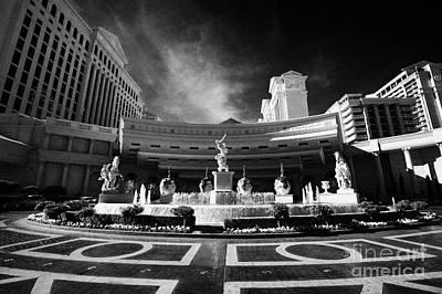 caesars palace luxury hotel and casino Las Vegas Nevada USA Poster by Joe Fox