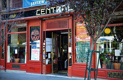 Cafe Central In Madrid Poster by RicardMN Photography