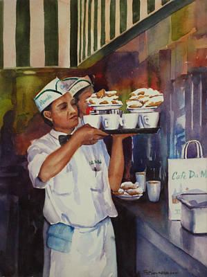 Cafe Du Monde Poster