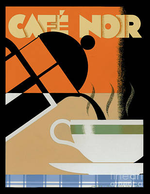 Cafe Noir Poster by Brian James