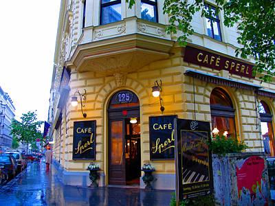 Cafe Sperl Vienna Poster