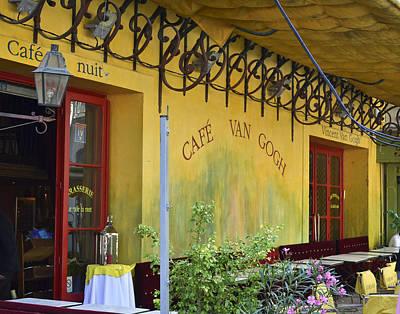Cafe Van Gogh Poster