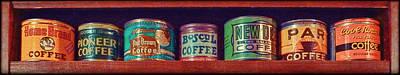 Caffe Retro No. 2 Poster by Douglas MooreZart