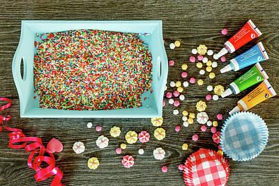Cake Decorating Ingredients Poster