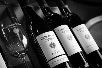 Cakebread Cellars Poster by Peak Photography by Clint Easley