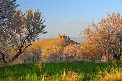 Calahorra Castle 1509 Poster by Guido Montanes Castillo