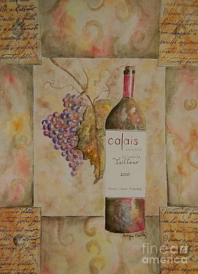 Calais Vineyard Poster by Tamyra Crossley