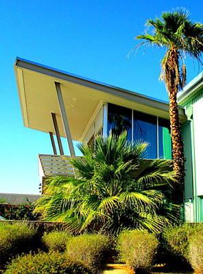 California Beach House Poster by Randall Weidner