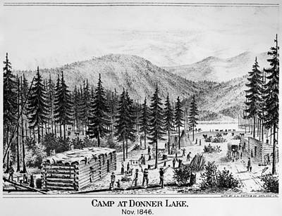 California Donner Lake Poster by Granger
