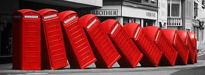 Call Waiting Poster by John Topman