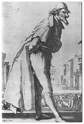 Callot La Pantalon, 1618 Poster