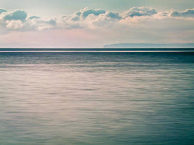 Calm Blue Ocean Poster