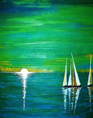 Calm Seas Poster