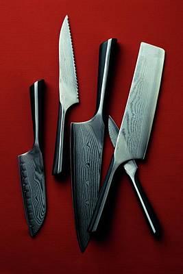 Calphalon Katana Series Knife Set Poster