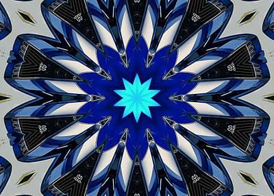 Camaro Kaleidoscope Poster by Victor Montgomery