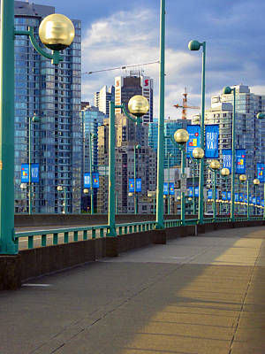 Cambie Bridge Walkway Poster
