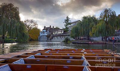 Cambridge River Poster by Svetlana Sewell